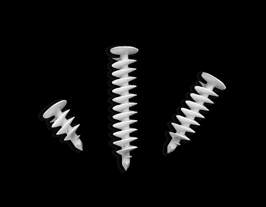 Spiralny wkręt tworzywowy SWT